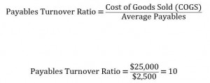 Payables Turnover Ratio