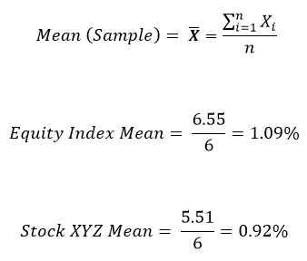 Calculate Mean