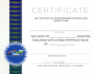 HTMW certificate