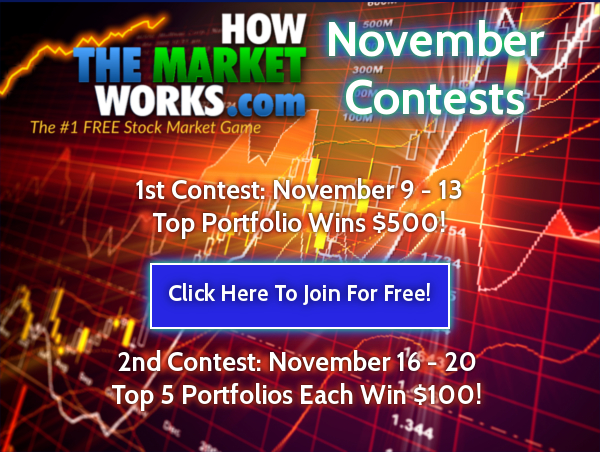 November Investing Contest Results