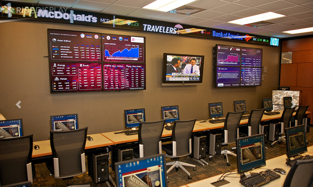 High School Trading Room