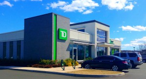 One of TD's commercial banks