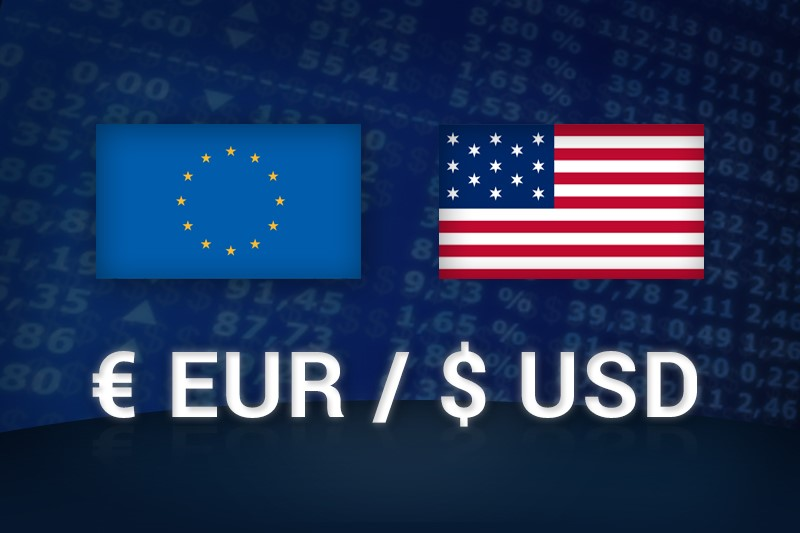 Euro/USD trading
