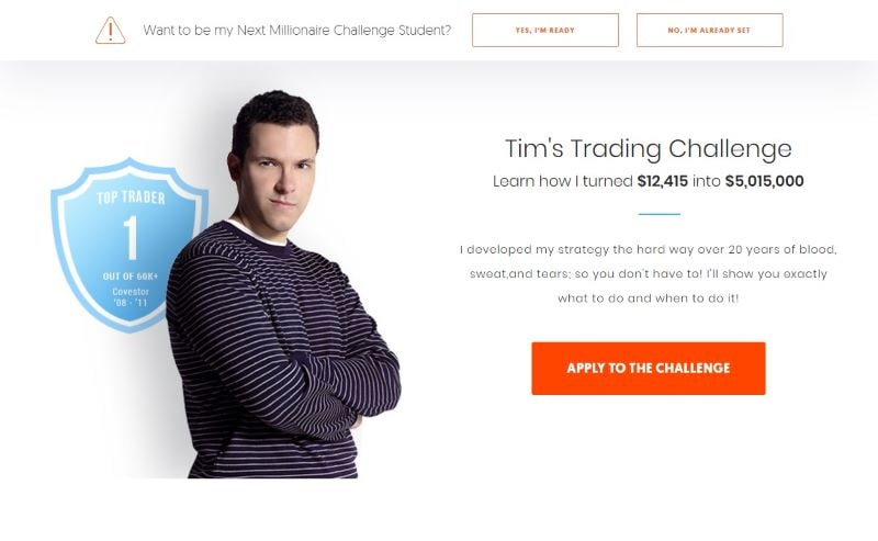 Timothy Sykes Penny Stocks investment website home page